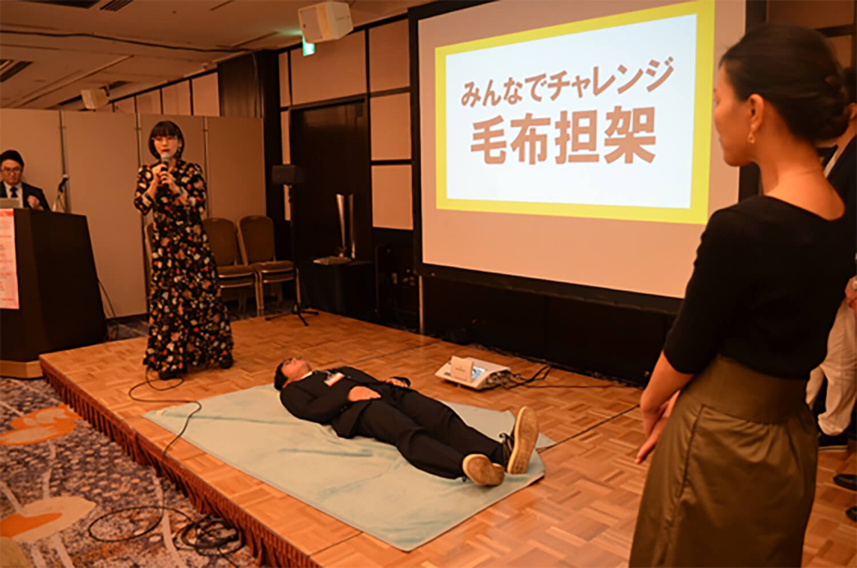みんなのアレルギー・防災EXPO2018特設会場イベント開催風景画像2
